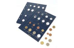 COIN SHEETS VISTA FOR EURO COIN SET